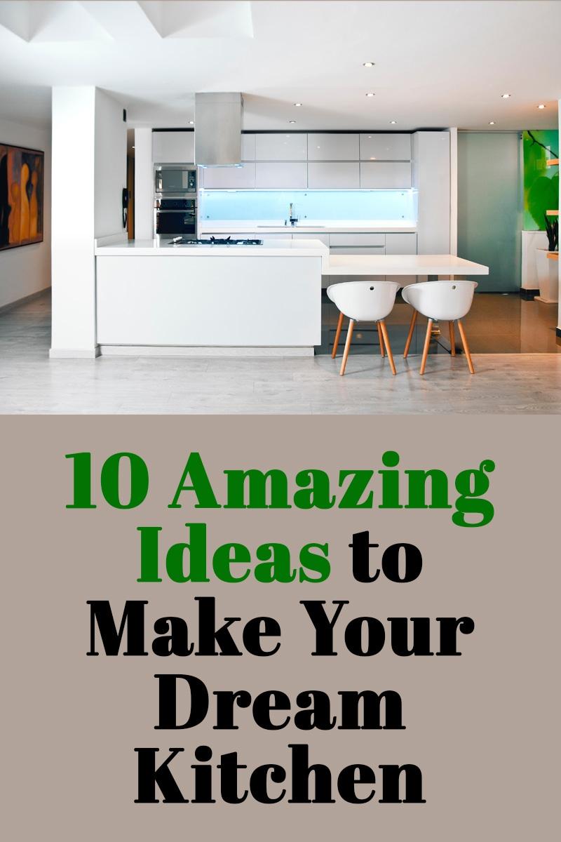 10 Amazing Ideas to Make Your Dream Kitchen | mygingergarlickitchen.com/ @anupama_dreams