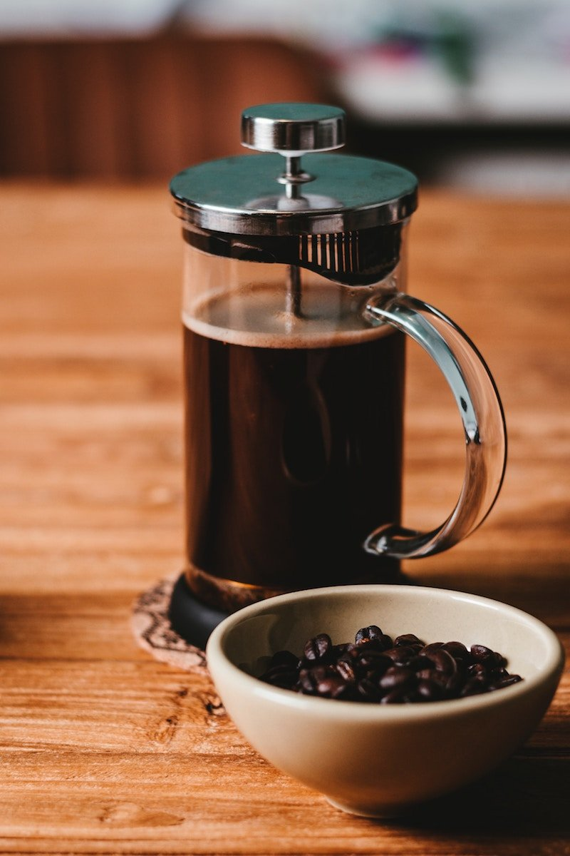 How to use a French Press - Step by Step Instructions | mygingergarlickitchen.com/ @anupama_dreams