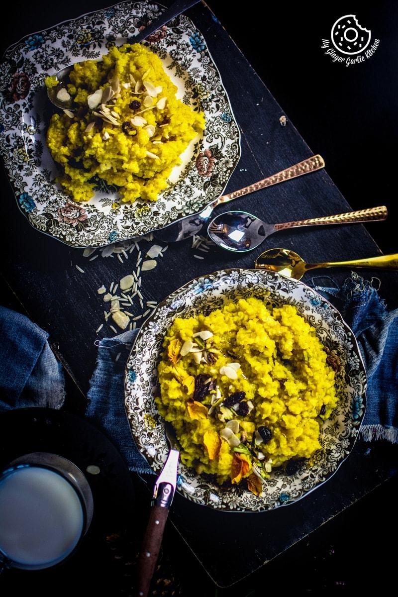 Image - paush khichda recipe sweet dal khichdi my ginger garlic kitchen 2 1 683x1024