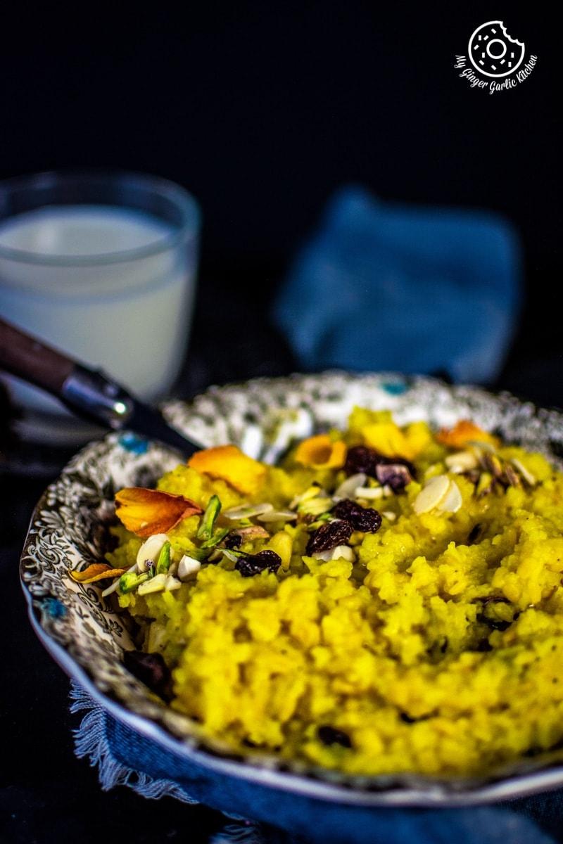 Image - paush khichda recipe sweet dal khichdi my ginger garlic kitchen 3 683x1024
