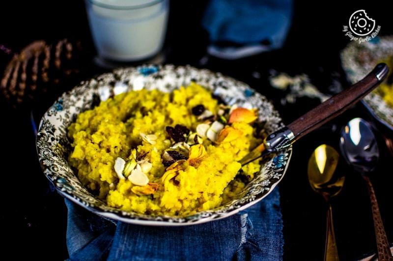 Image - paush khichda recipe sweet dal khichdi my ginger garlic kitchen 6