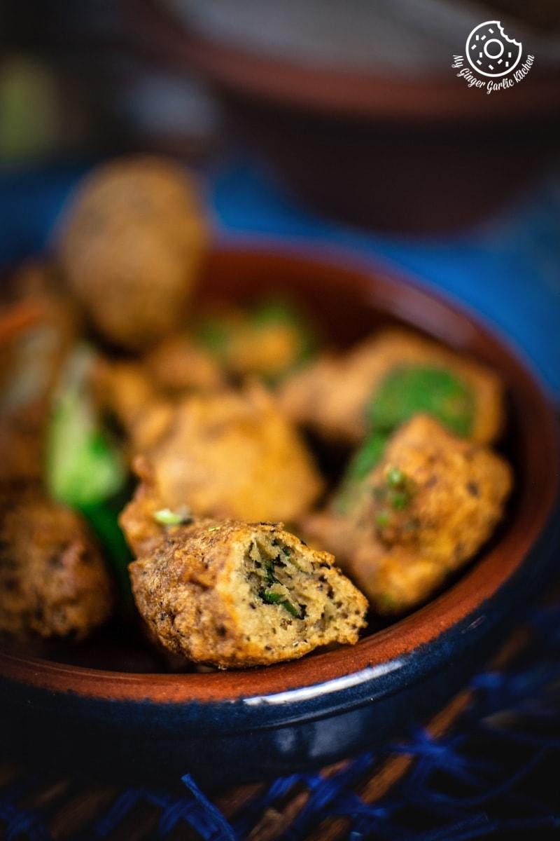 Image - paush vada recipe my ginger garlic kitchen 2