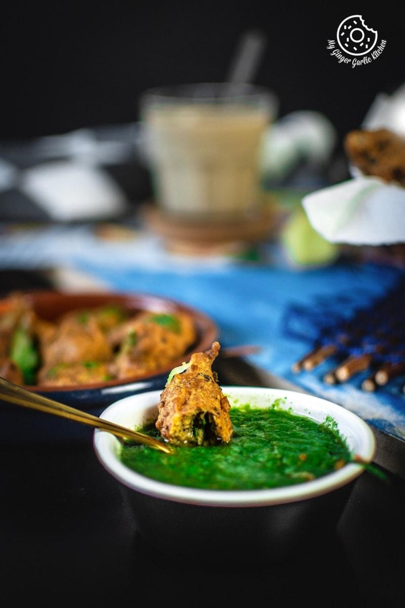 Paush Vada Recipe | Paush Bade (Dal Wada) | mygingergarlickitchen.com/ @anupama_dreams