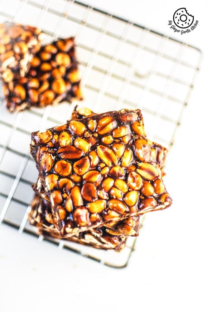 Image of Peanut Chikki – Peanut Brittle