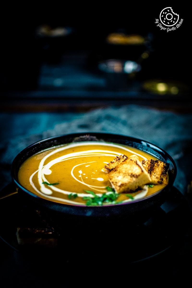 Instant Pot Carrot Potato Soup Photo