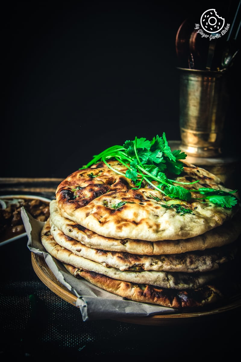 Image of Amritsari Aloo Kulcha - Potato Stuffed Flatbread