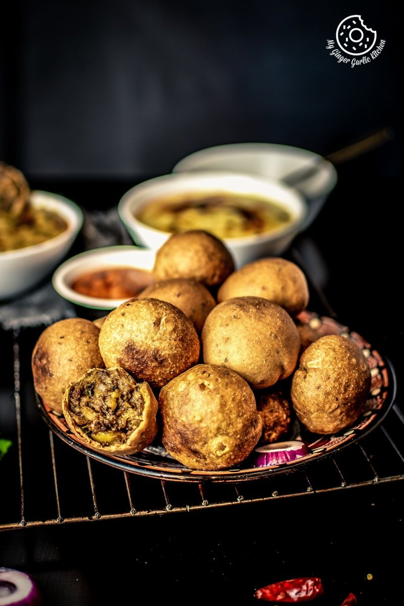 Image of Masala Bati - Stuffed Masala Bati - Bharwa Masala Baati