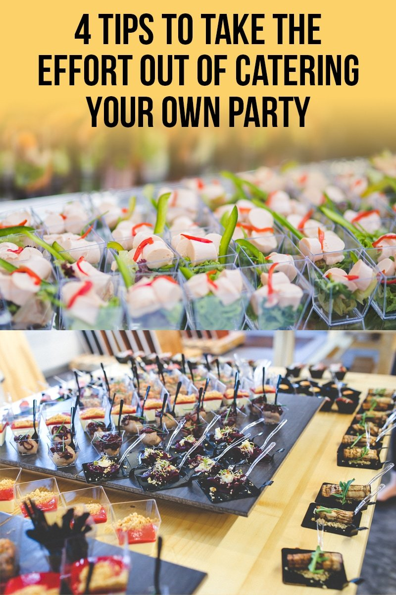 Image of 4 Tips to Take the Effort Out of Catering Your Own Party