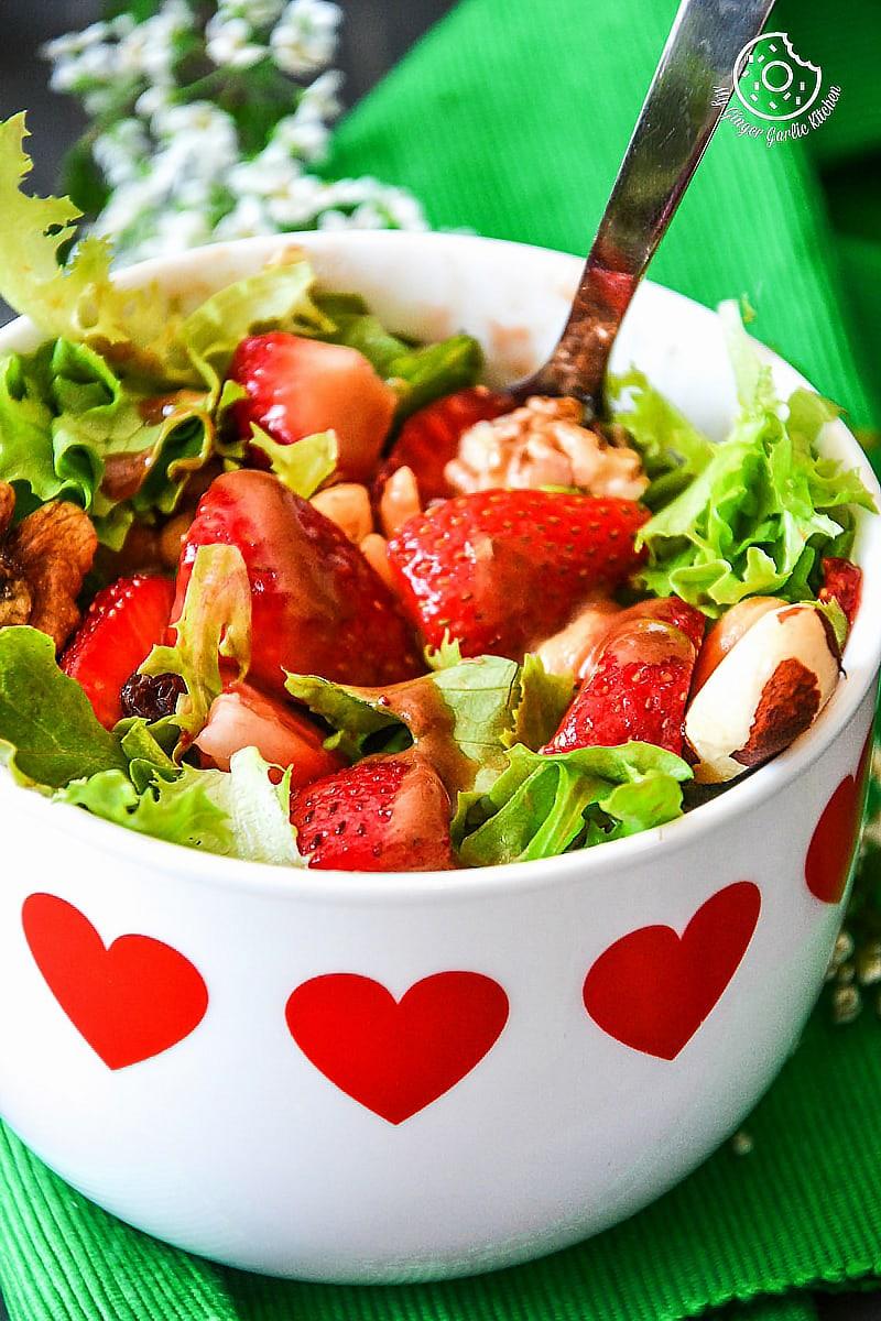 Image - effortless summer sides strawberry poppyseed salad