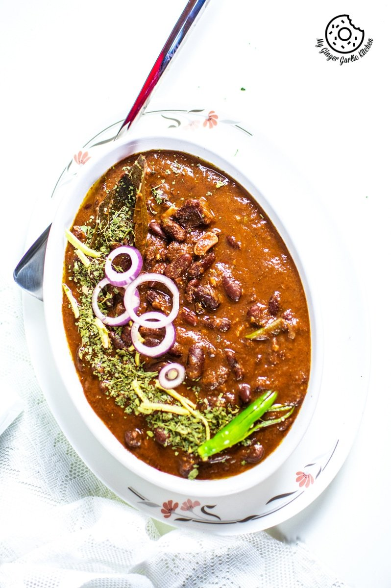 Image of Instant Pot Rajma Masala - Kidney Beans Curry