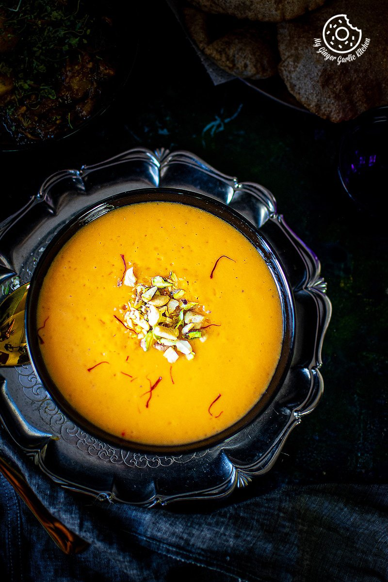 Image of Aamras Recipe - Sweet Mango Puree