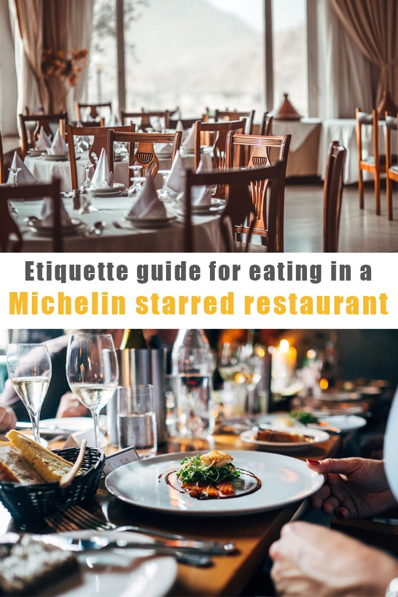 Image of Etiquette guide – Eating in a Michelin starred restaurant