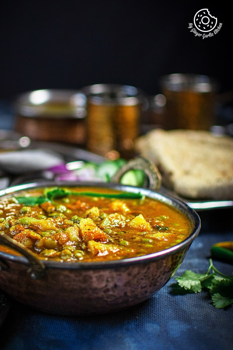 Image of Instant Pot Aloo Matar - Potato Peas Curry