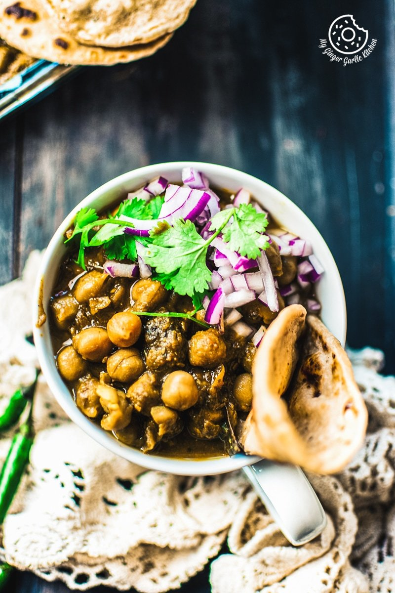 Image of Restaurant Style Chana Masala - How to Make Chole Masala
