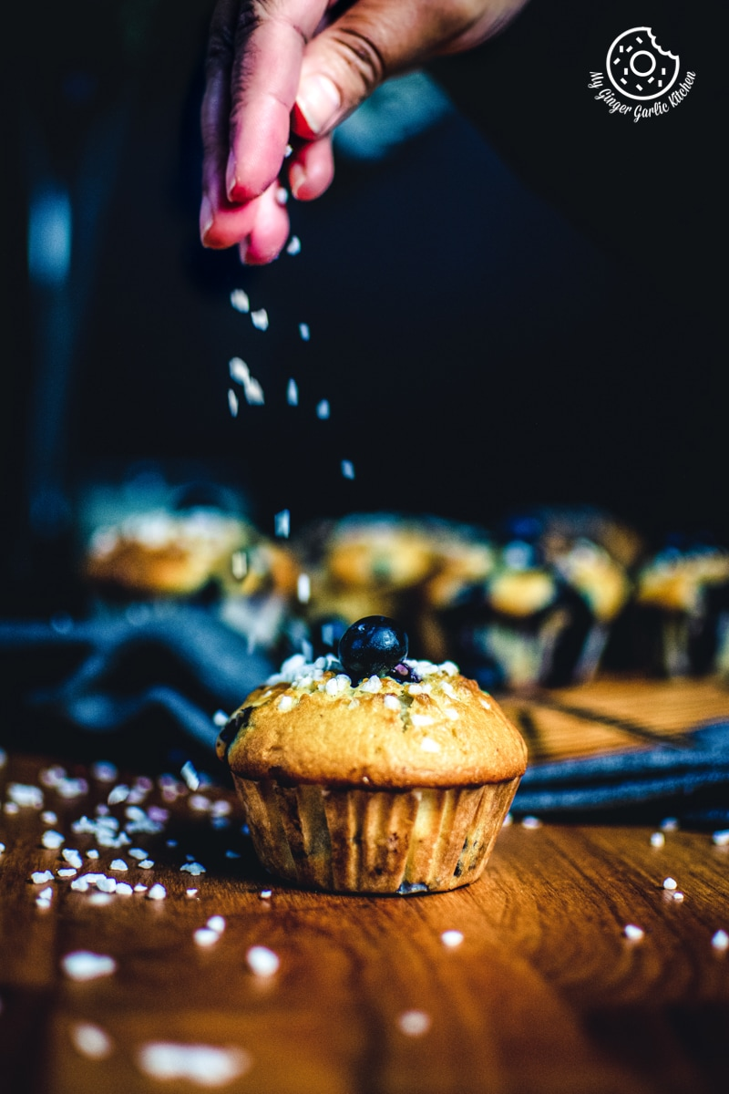 Image of Quick and Easy Blueberry Muffins Recipe