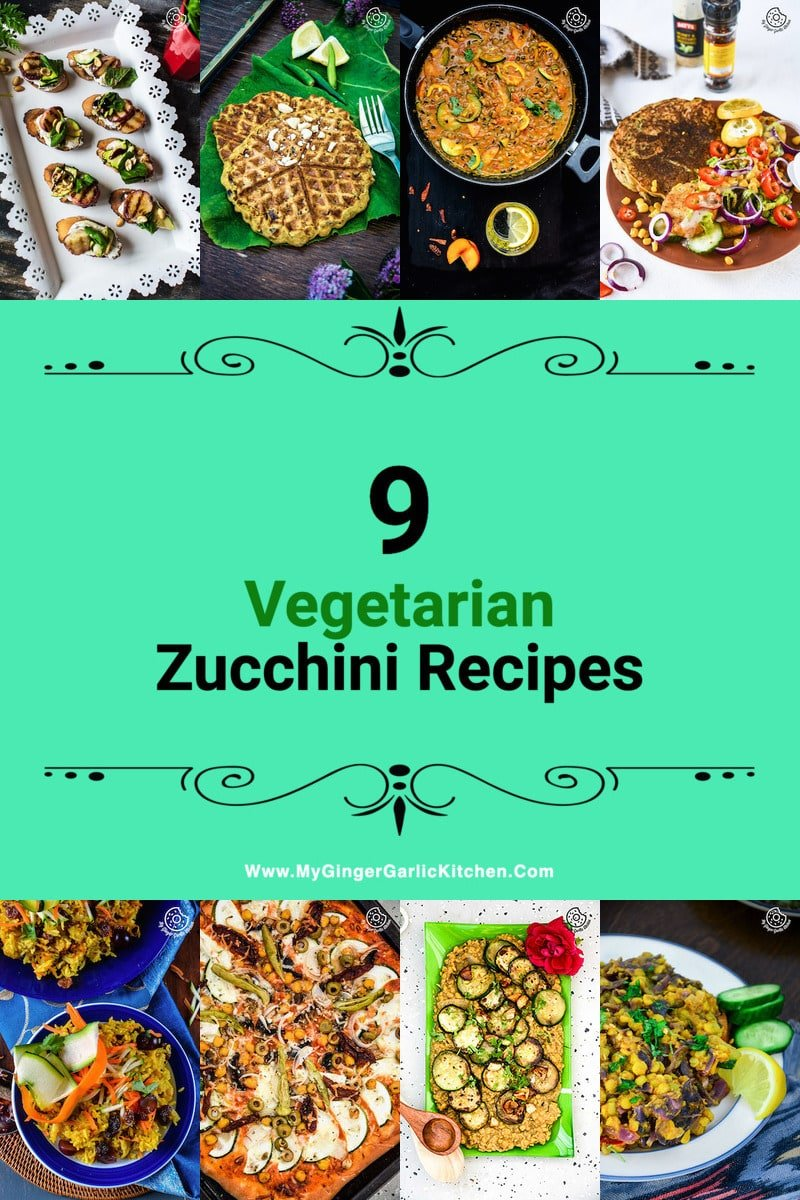 Image of Vegetarian Zucchini Recipes