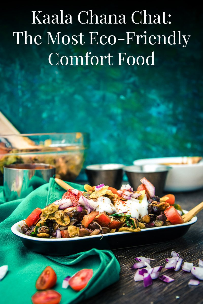 Image of Kala Chana Chaat – The most Eco-Friendly Comfort food