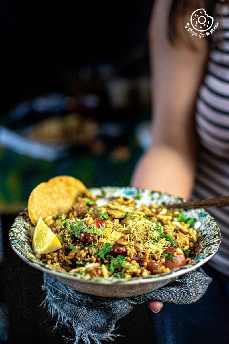 Image of Bhel Puri (Step-By-Step Video Recipe)