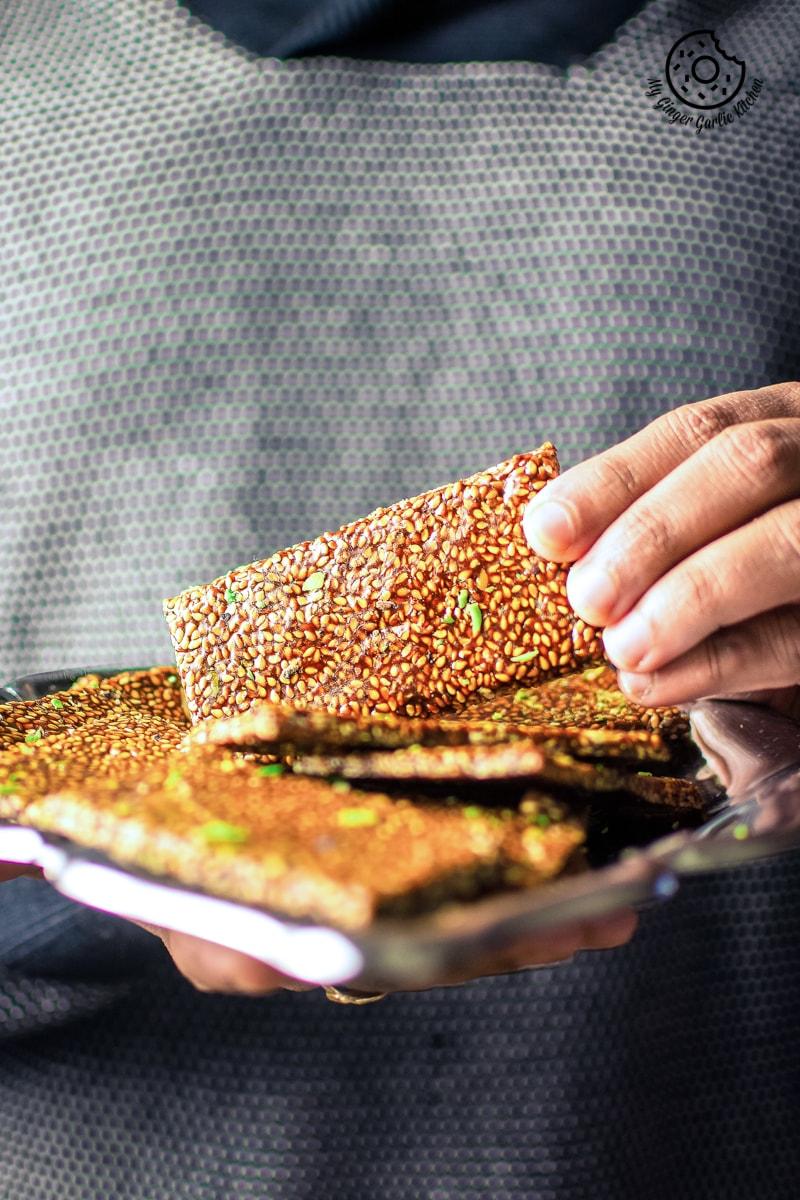 Image of Til Chikki - Sesame Seed Bars