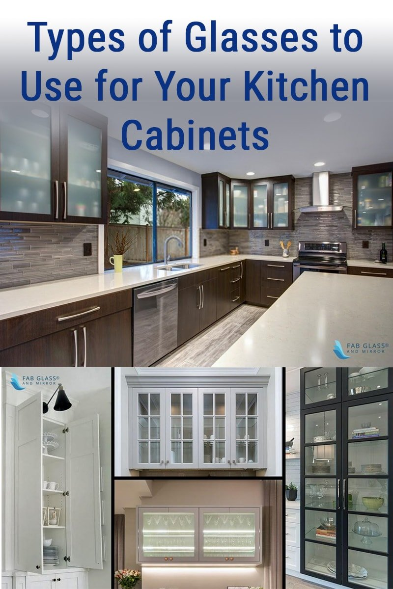 Image of Types of Glasses to Use for Your Kitchen Cabinets