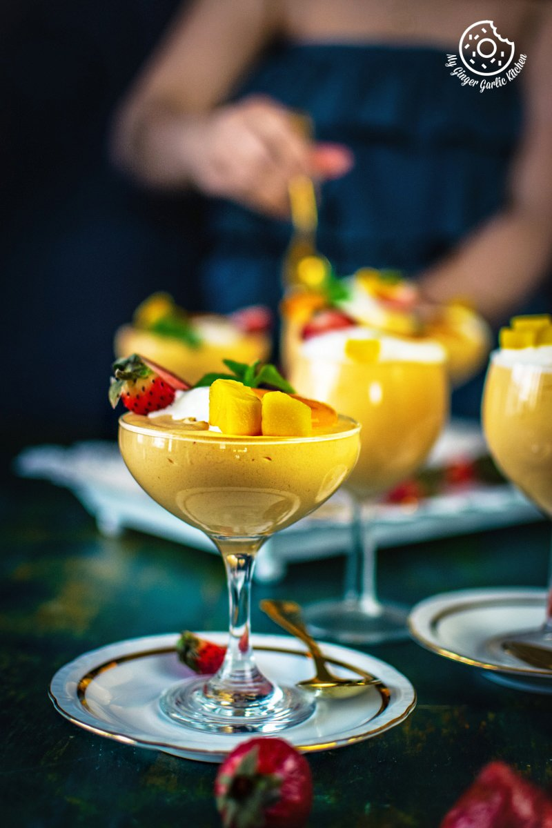 Image of Eggless Mango Mousse