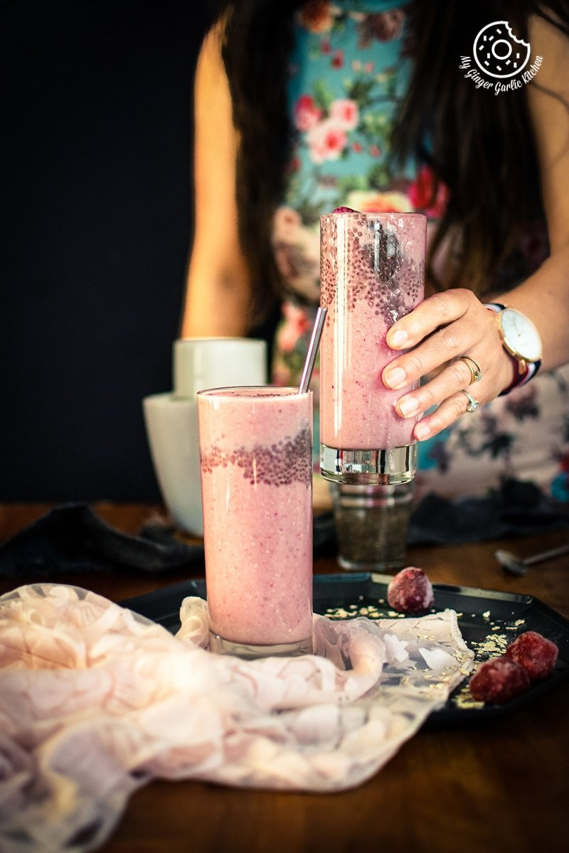 Image of Strawberry Banana Oat Smoothie
