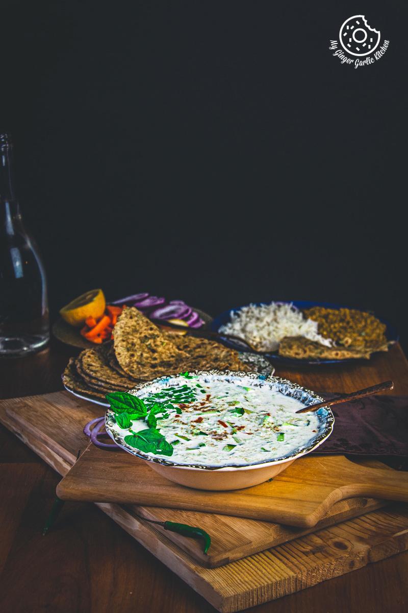 indian cucumber raita