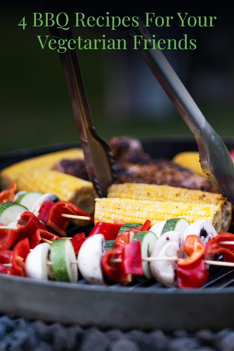 Image of 4 BBQ Recipes For Your Vegetarian Friends