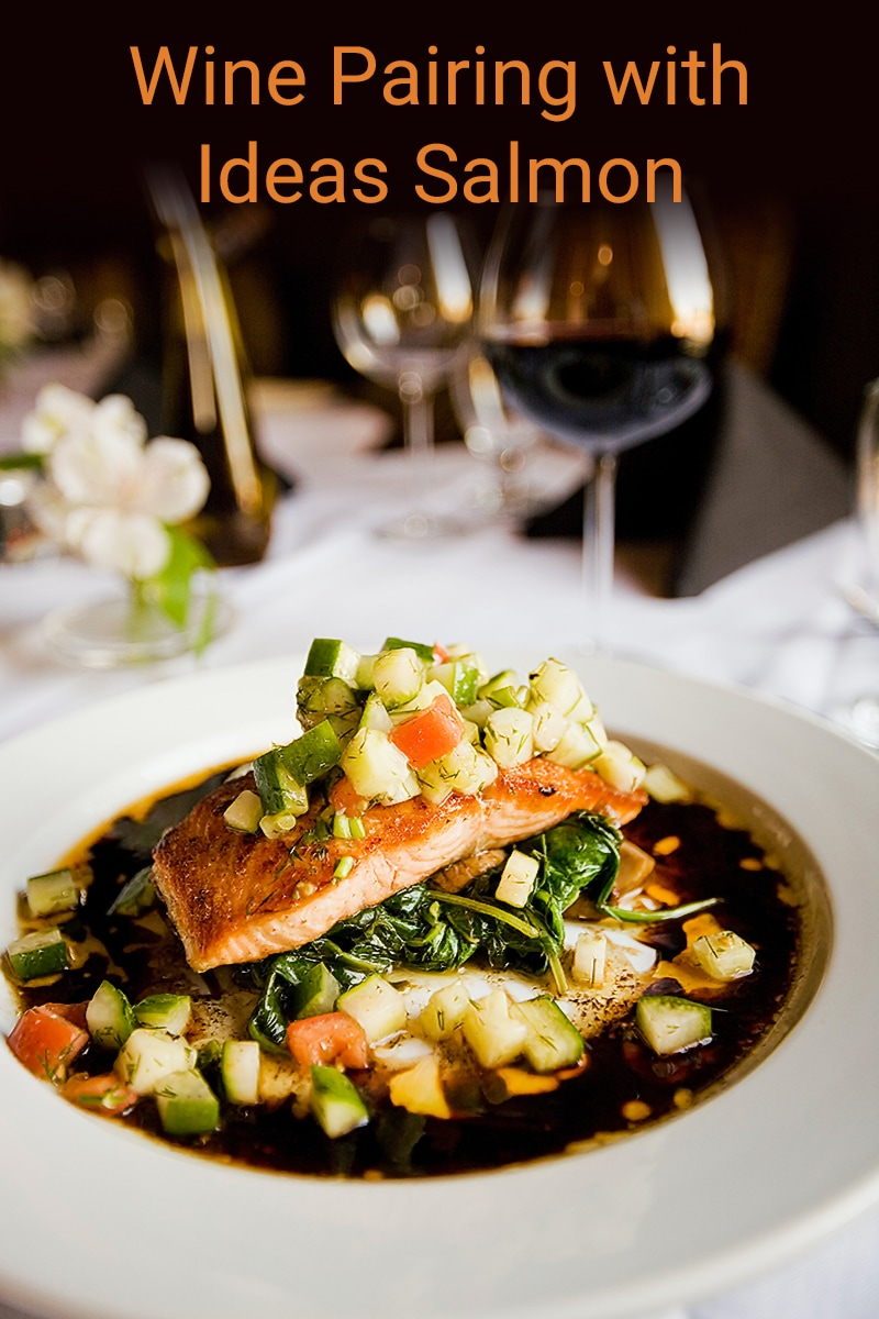 wine pairing ideas with salmon
