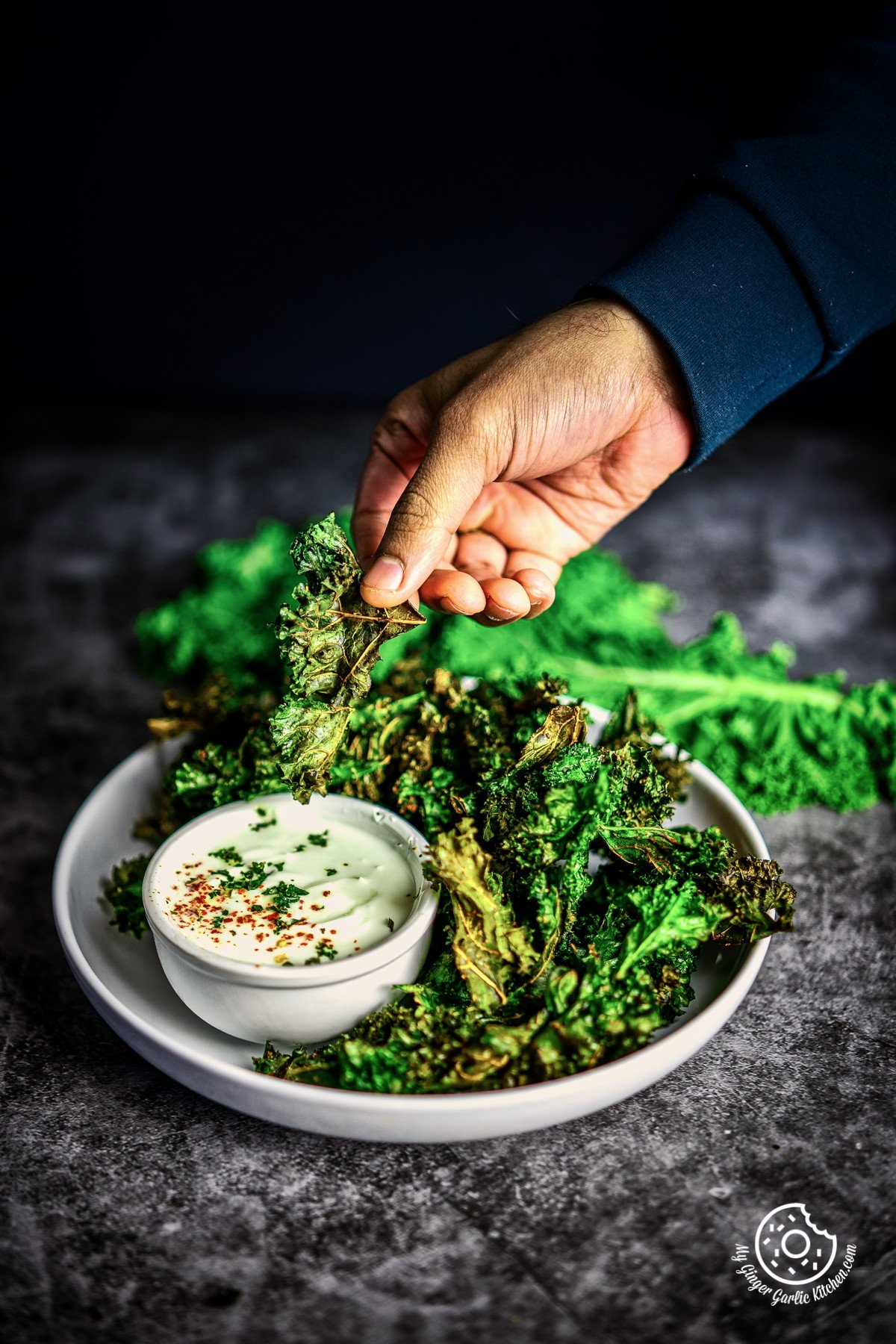 Image of Air Fryer Kale Chips