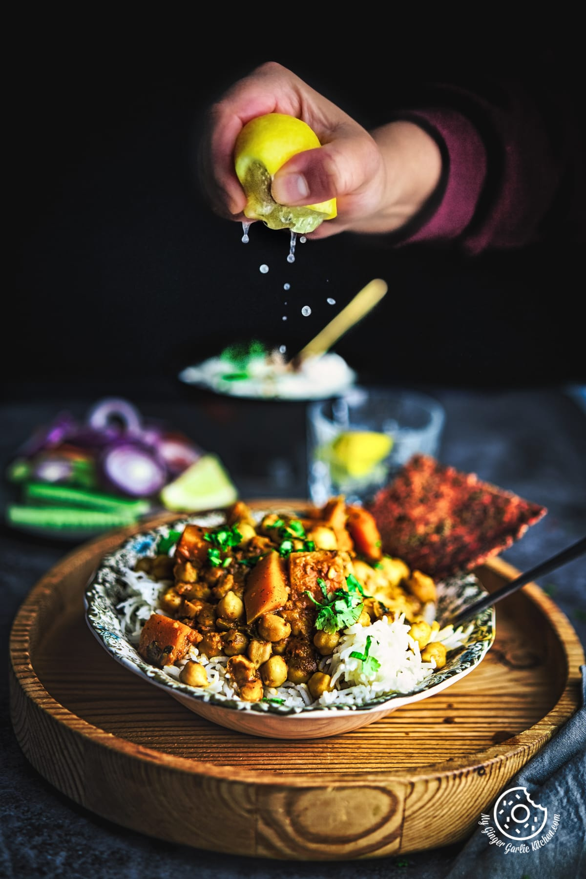 Image of Butternut Squash Chickpea Curry