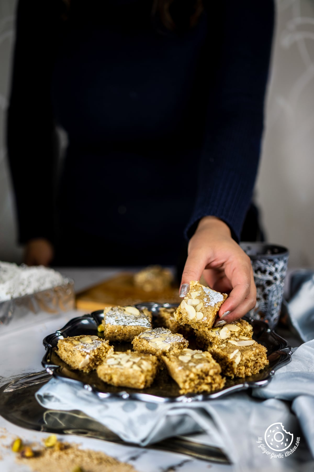 Image of Til Burfi - Sesame Seed Fudge