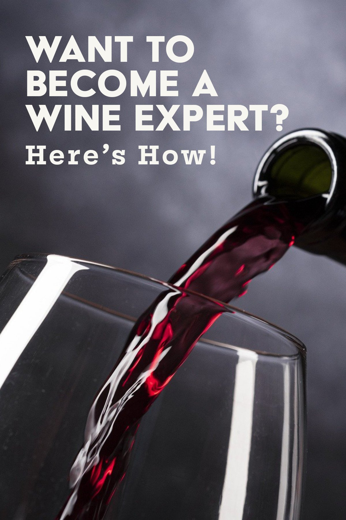 Image of Want To Become A Wine Expert? Here's How