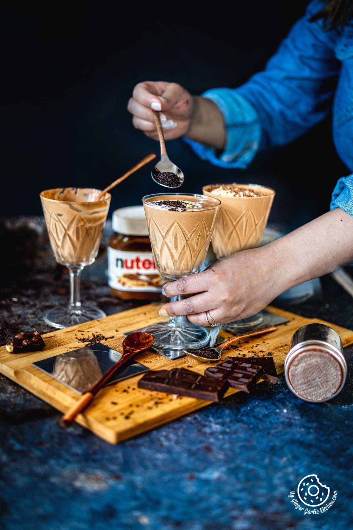 Image of 3-Ingredient Nutella Mousse